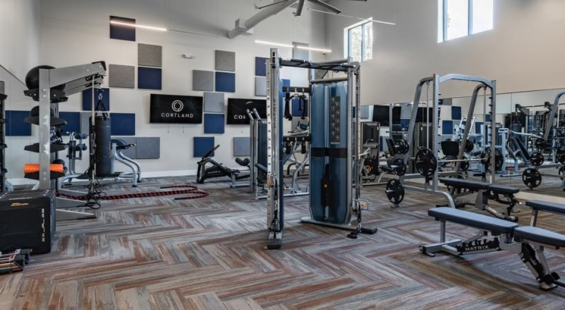 Newly Renovated Fitness Center with Yoga Studio