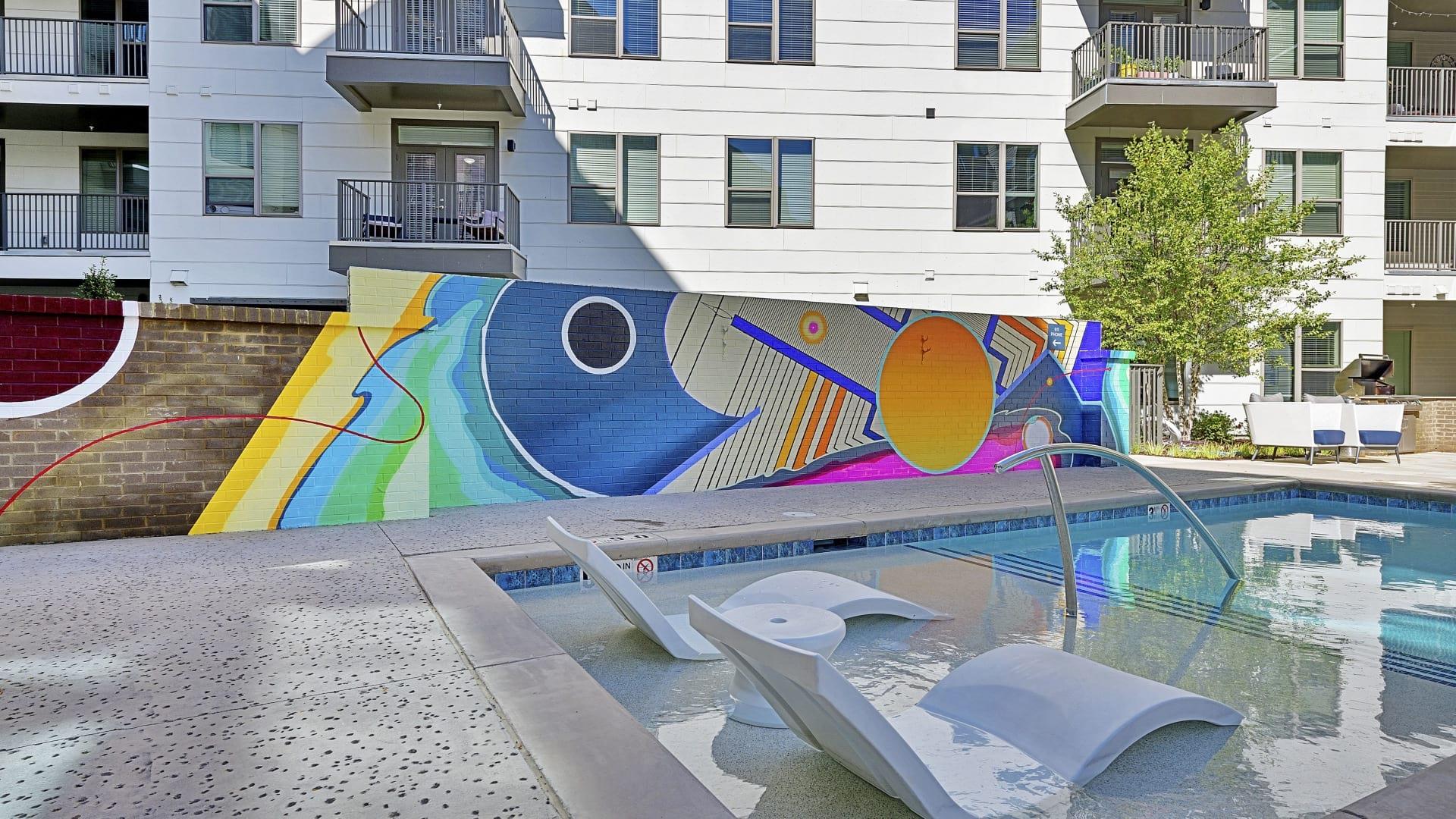 Cortland NoDa Resort Style Pool