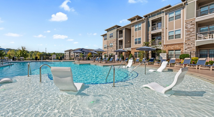 Resort-Style Pool and Sun Deck