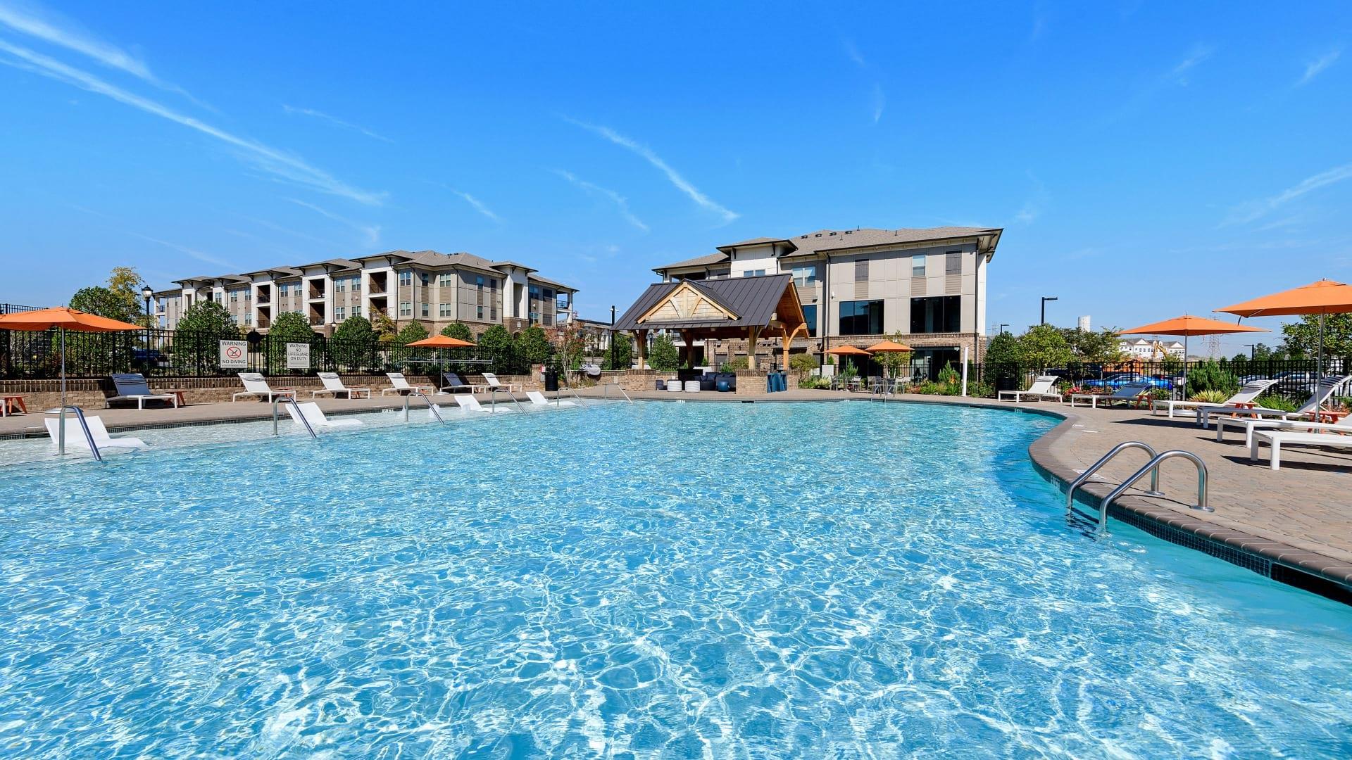 Cortland Huntersville Resort Style Pool