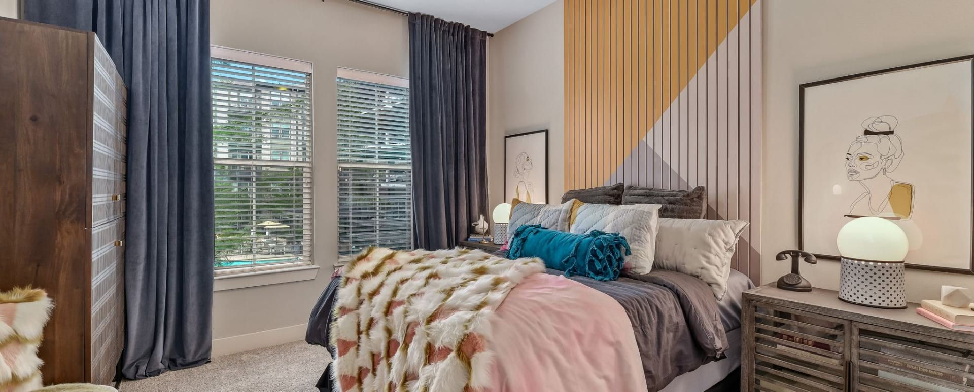 Spacious one bedroom apartments for rent in Oak Lawn