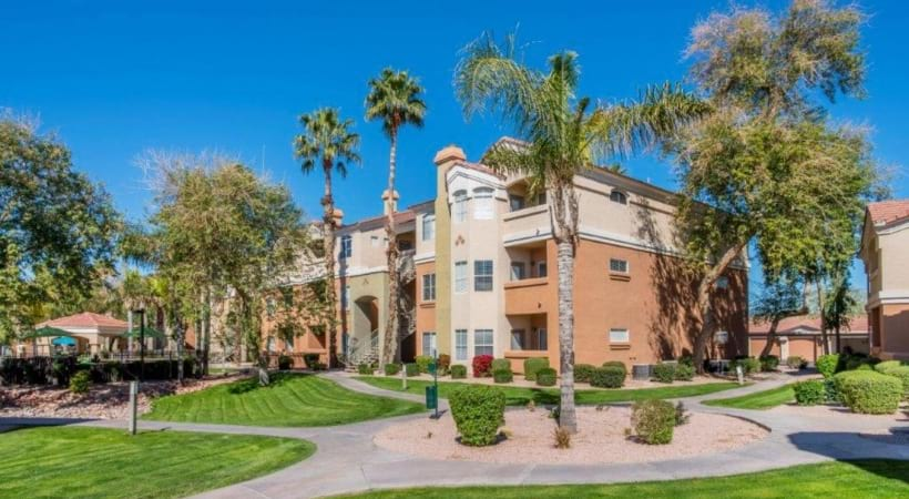 Street View of Our Modern Apartments Near Desert Ridge
