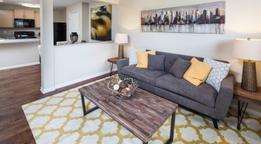 Wood-Style Flooring at Abbie Lakes by Cortland Apartments
