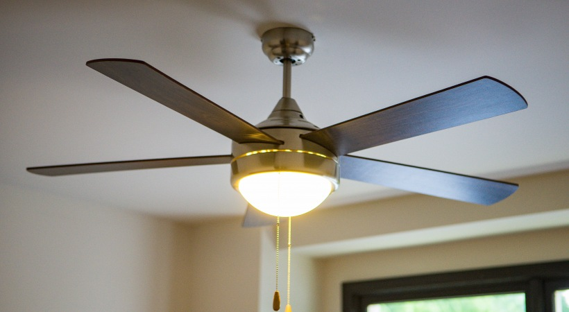 Bedroom Ceiling Fans at Our Apartments by Cortland