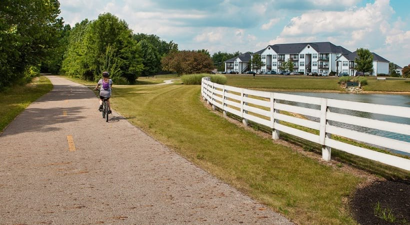 Scenic Nature Trails by Abbie Lakes Apartments