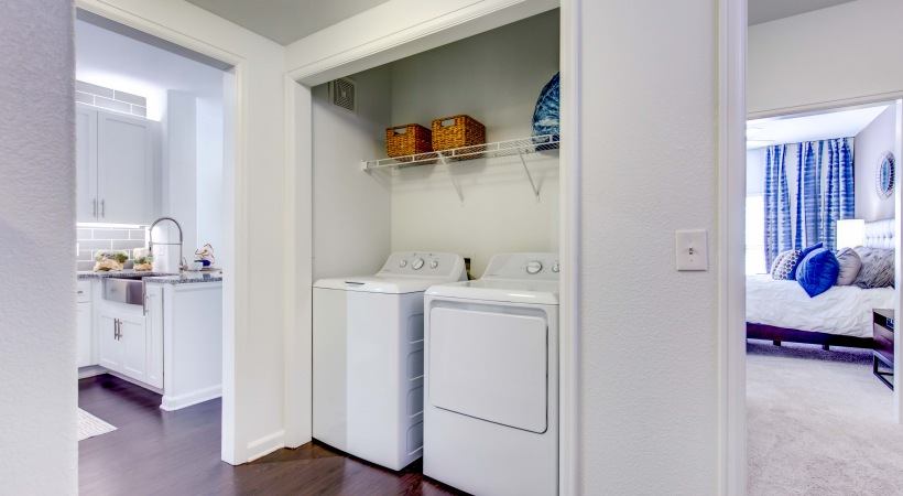 In-Home, Washer and Dryer Included