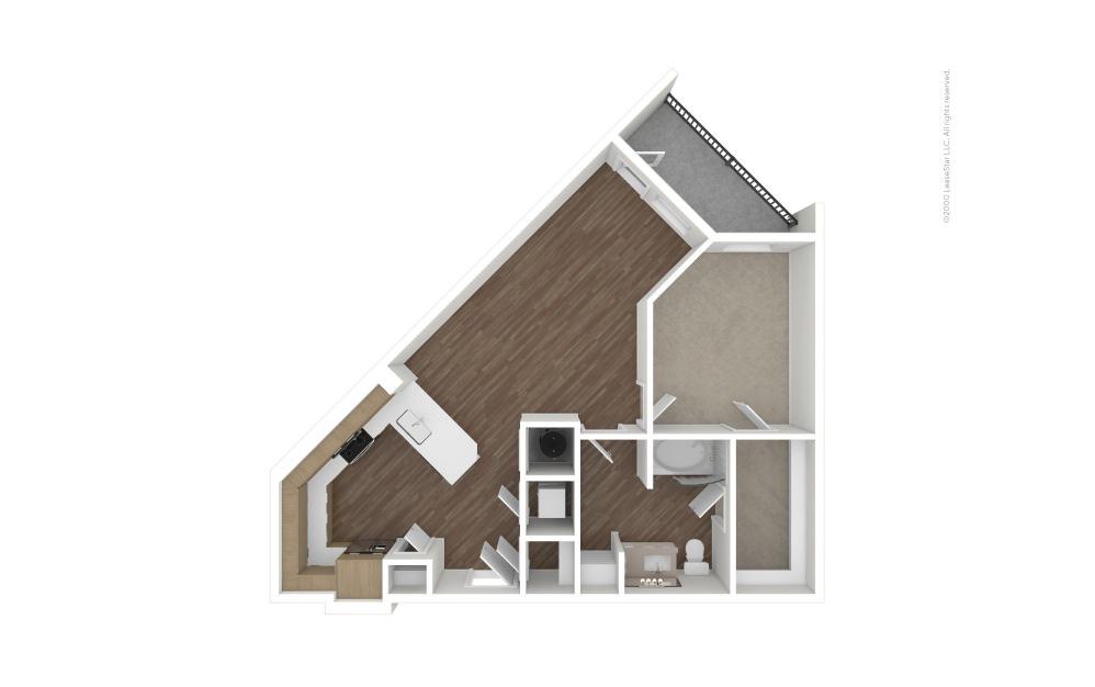 A15 RBI 1 bedroom 1 bath 850 square feet (1)