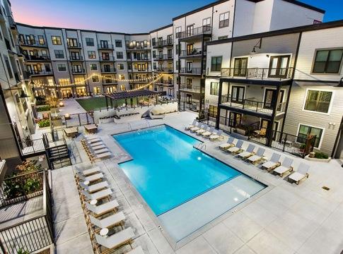 Resort Style Pool at Cortland at the Battery Atlanta