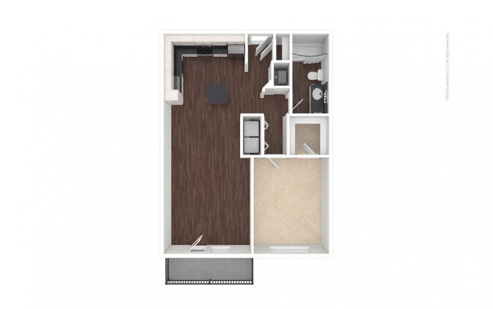 A2 - Olivia 1 bedroom 1 bath 756 square feet (1)