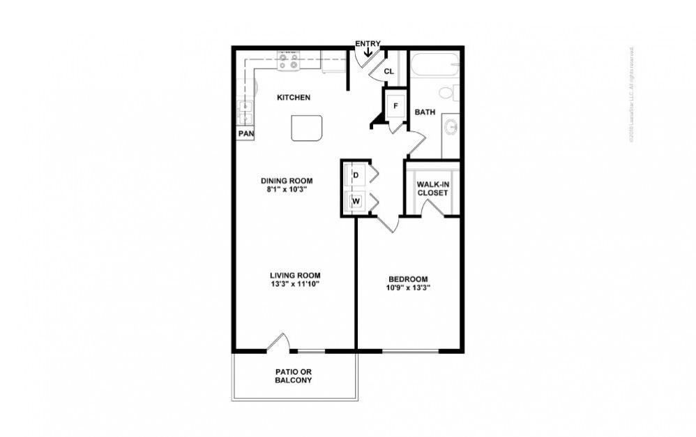 A2 - Olivia 1 bedroom 1 bath 756 square feet (2)