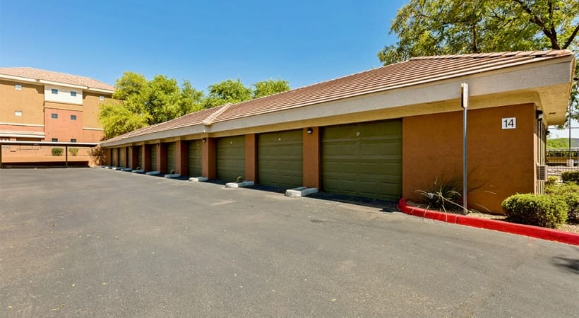 Our Papago apartments with private garages