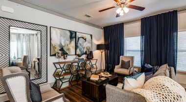 Luxury Apartment Floor Plan at Cortland North Haven