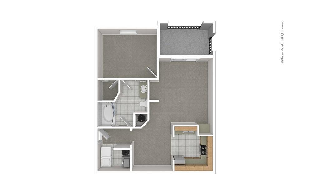 A1 1 bedroom 1 bath 820 square feet (1)