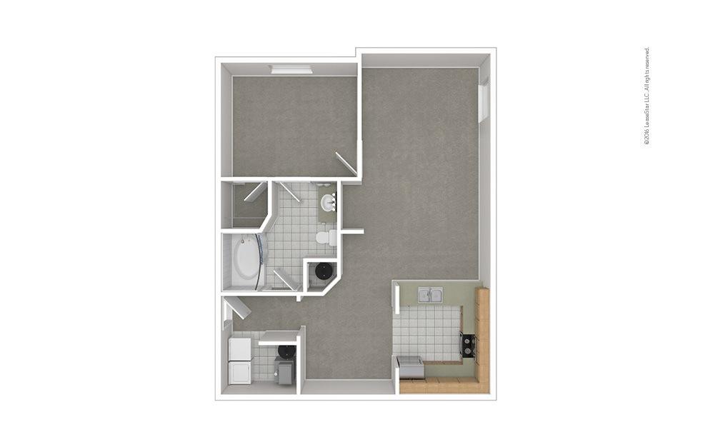 A4 1 bedroom 1 bath 950 square feet (1)