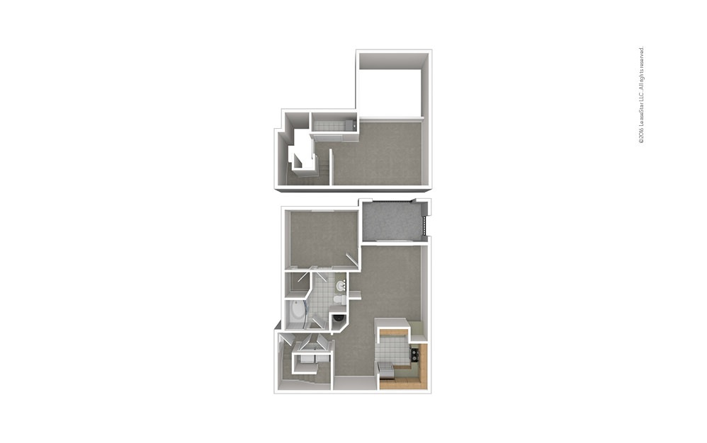 A5 1 bedroom 1 bath 1038 square feet (1)