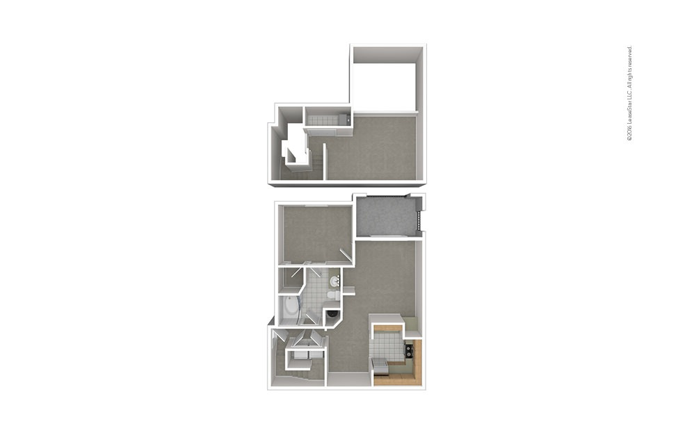 A6 1 bedroom 1 bath 1085 square feet (1)