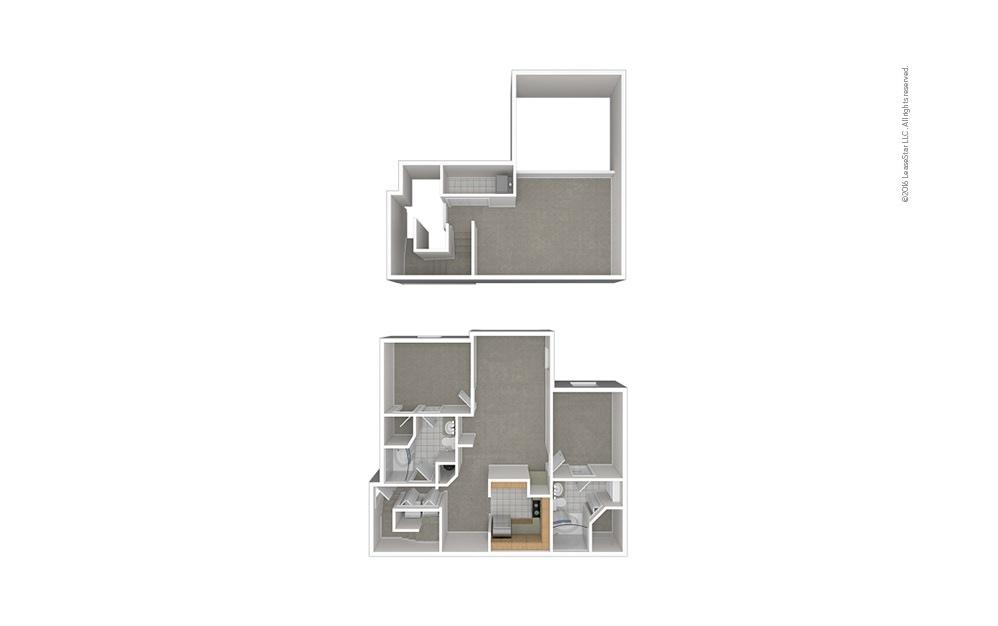 B7 2 bedroom 2 bath 1456 square feet (1)