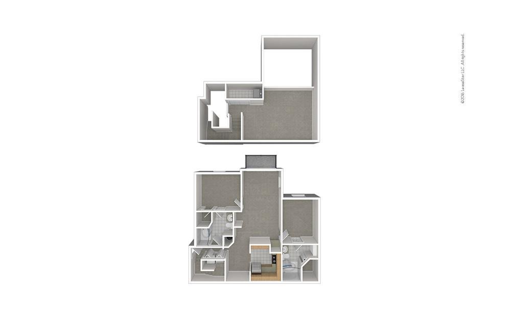 B9 2 bedroom 2 bath 1503 square feet (1)