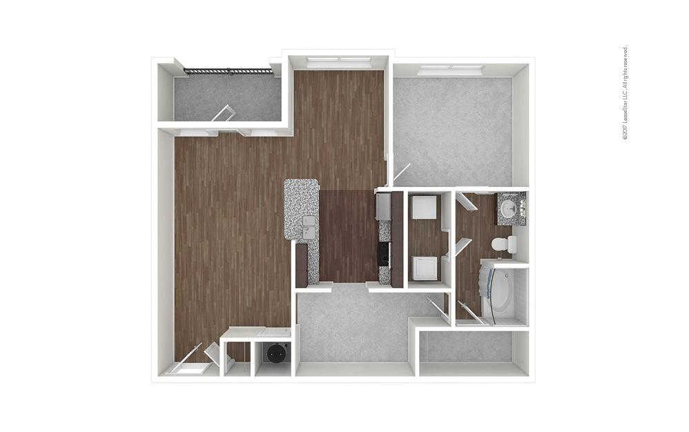 A5 1 bedroom 1 bath 984 square feet (1)