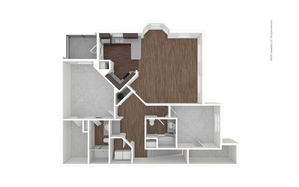 B7b 2 bedroom 2 bath 1457 square feet (1)