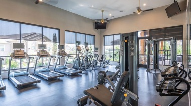 Stonebriar of Frisco apartments with fitness center