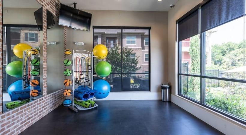 Cortland Preston North fitness center with yoga studio