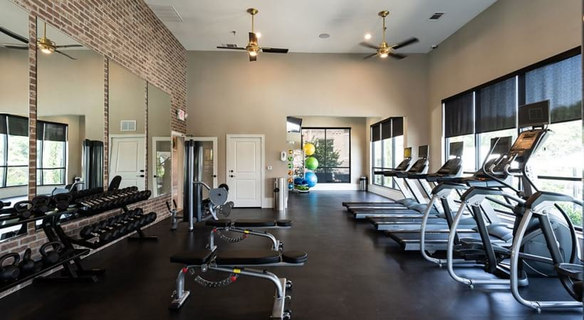 Frisco Square apartments with fitness center