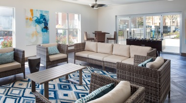 Indoor Outdoor Resident Lounge