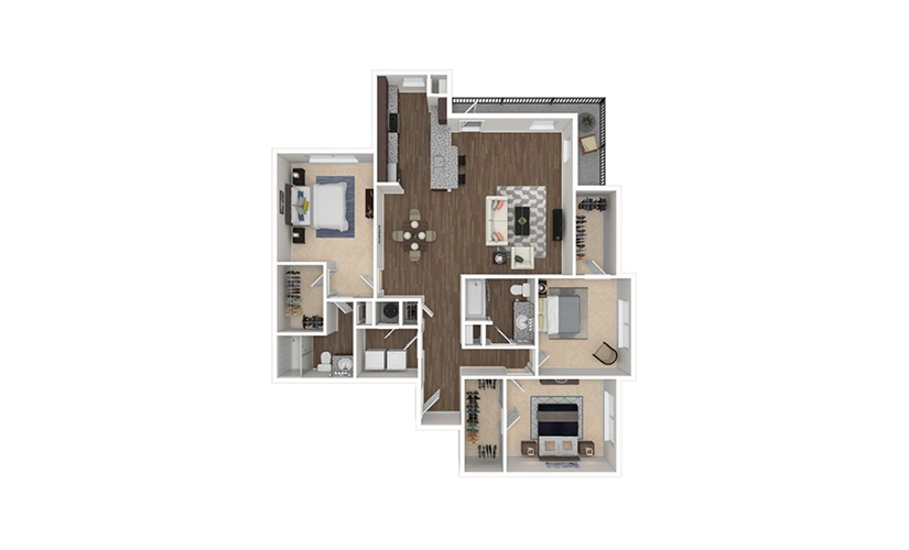 B2 available one two and three bedroom apartments in - 3 bedroom apartments in fort worth ...