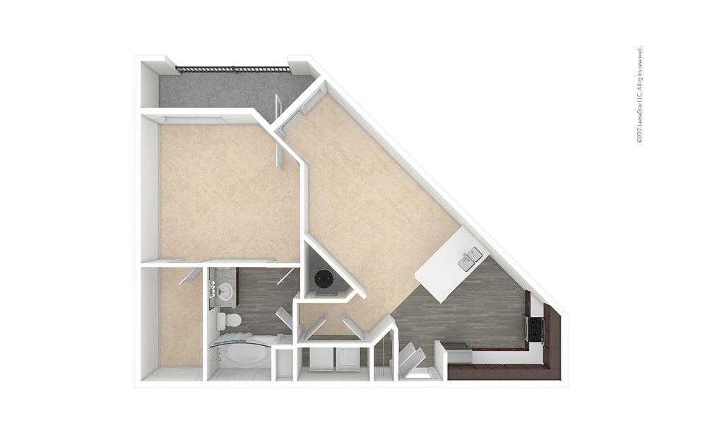 Wheat 1 bedroom 1 bath 815 square feet (1)