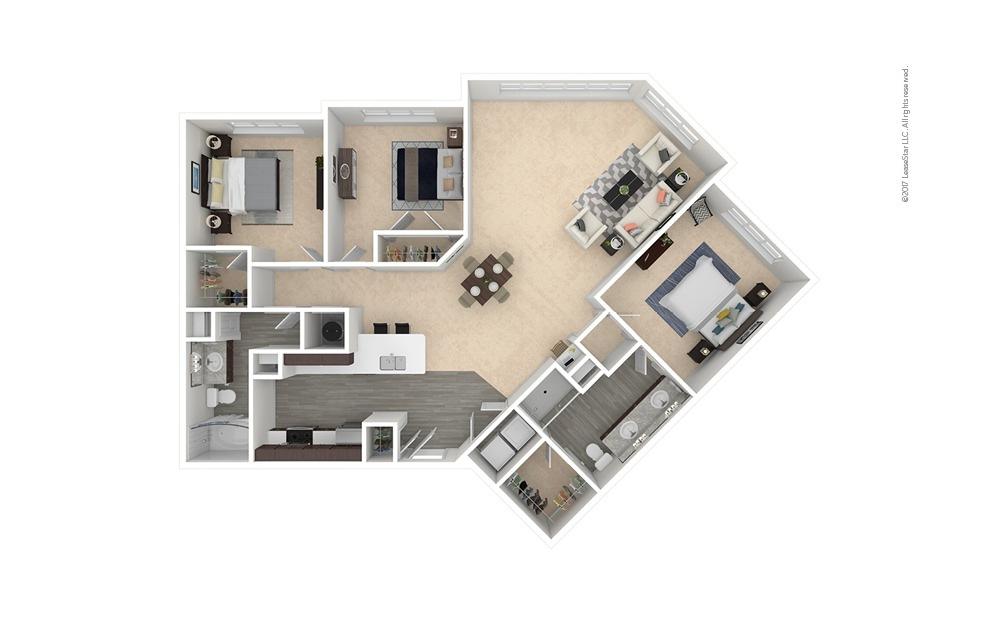 Kellerbier 3 bedroom 2 bath 1579 square feet