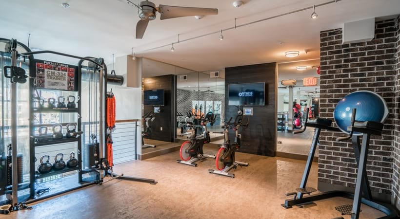 24/7 apartment gym in raleigh nc