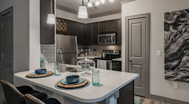 Quartz countertops at our Raleigh, NC apartments
