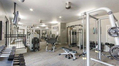 Addison Circle apartments with gym