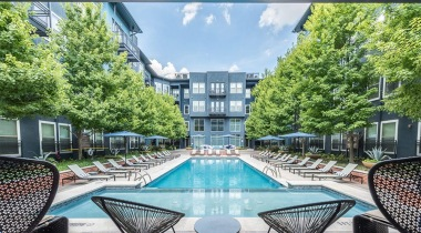 Galleria Dallas apartments with pool