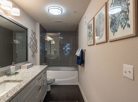 Glass-Door Showers/Bathtubs