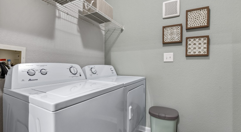Apartments with washer and dryers