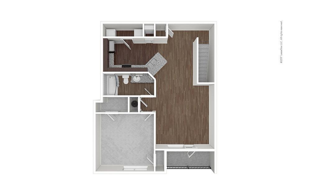 A2B 1 bedroom 1 bath 953 square feet (1)