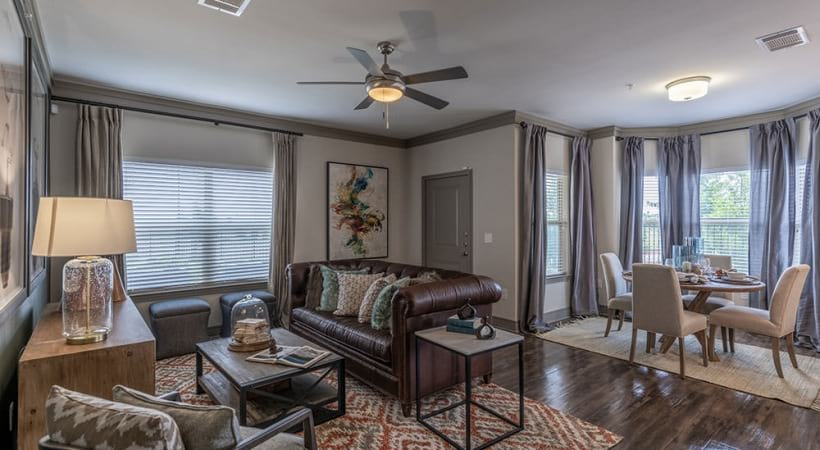 Spacious apartment floor plan near Frisco, TX