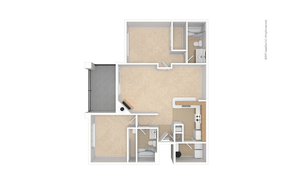 B1 2 bedroom 2 bath 1022 square feet (1)
