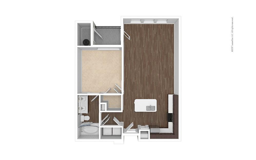 A2 1 bedroom 1 bath 796 square feet (1)