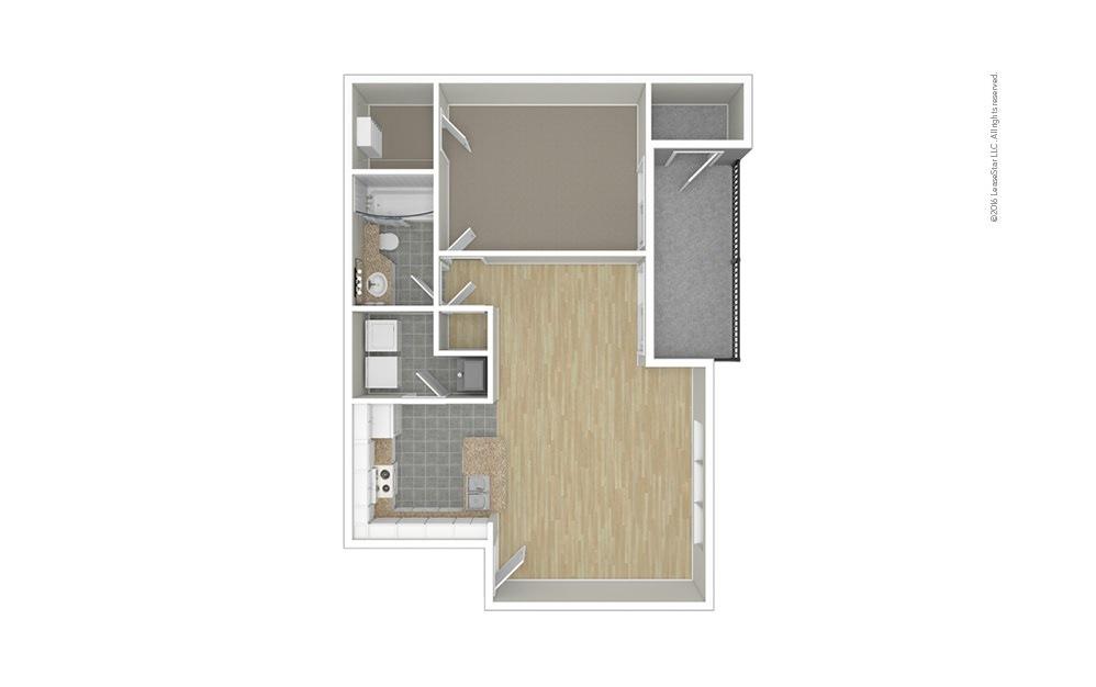 Lotus 1 bedroom 1 bath 815 square feet (1)