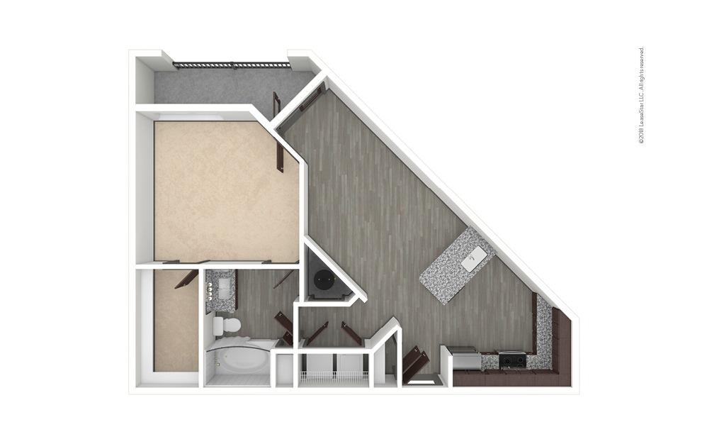 A4 1 bedroom 1 bath 815 square feet (1)