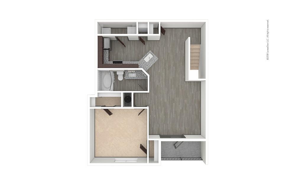 A5 1 bedroom 1 bath 953 square feet (1)