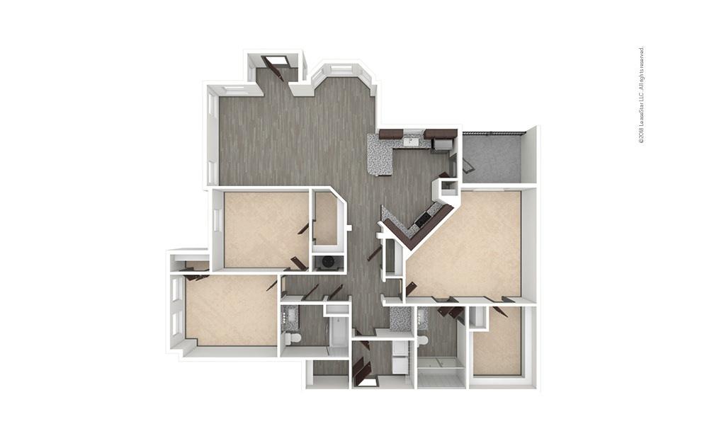 C3 3 bedroom 2 bath 1507 square feet (1)