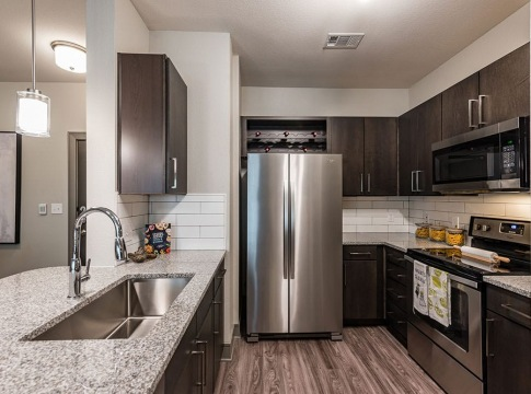 Stainless Steel Appliances at Our Luxury Kitchen