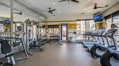 Houston apartments with fitness center