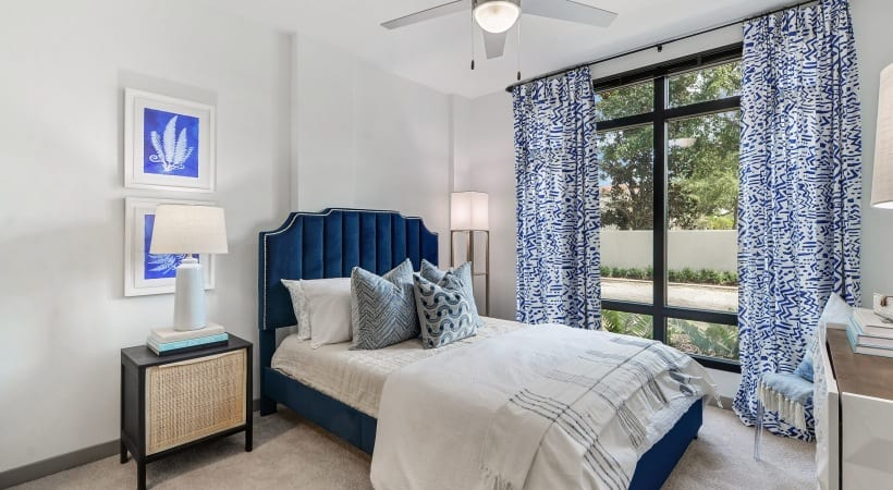Spacous bedrooms in our south tampa apartments