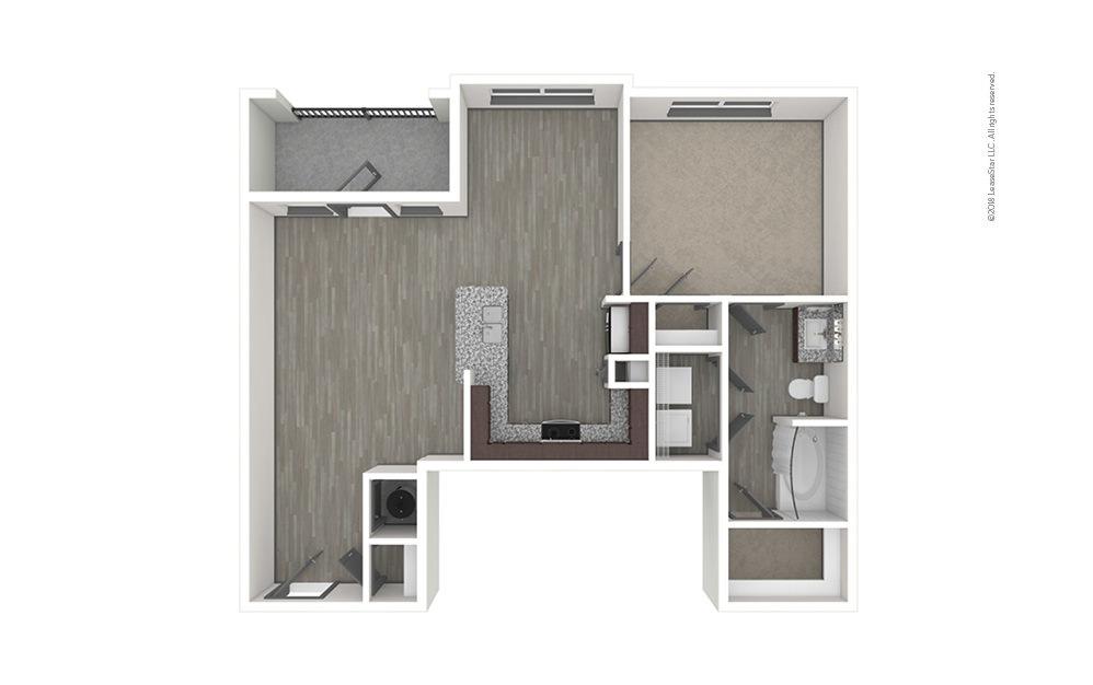 A3 1 bedroom 1 bath 835 square feet (1)