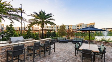 Cortland World Gateway outdoor kitchen in Orlando, FL